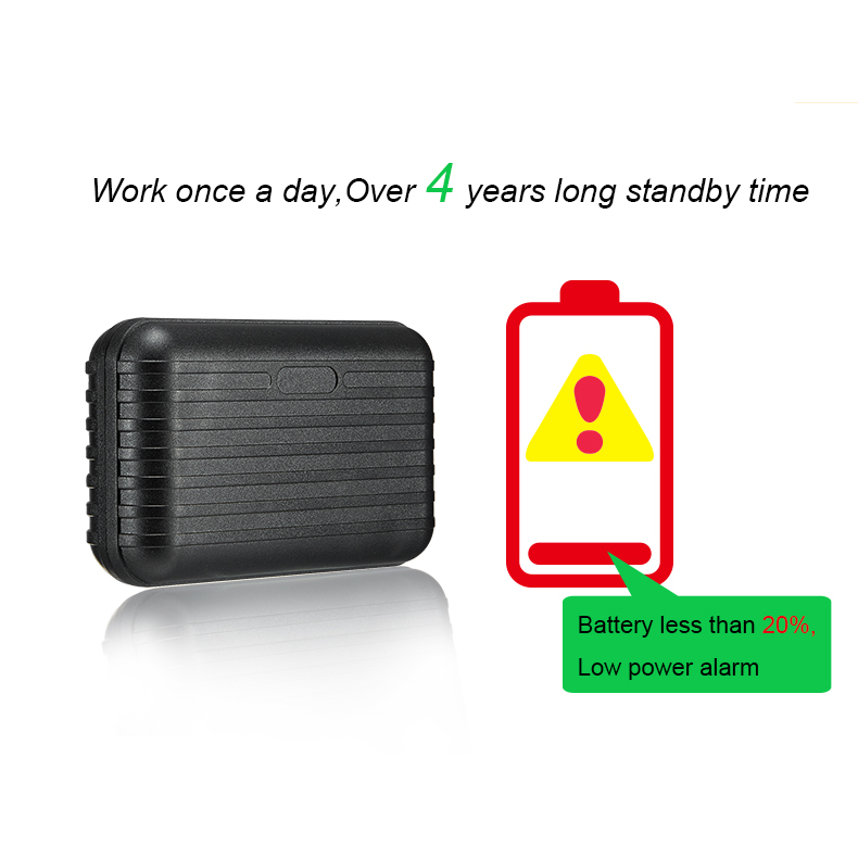 Portable GPS Asset Tracking Tracker With 3 Years Long